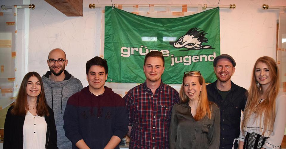 Gruppenbild bei der Gründung der GJ Main-Saale
