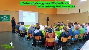 Dieter Möhring auf dem Klimakongress