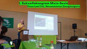 Hans-Josef Fell auf dem Klimakongress