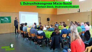 Norbert Zösch auf dem Klimakongress